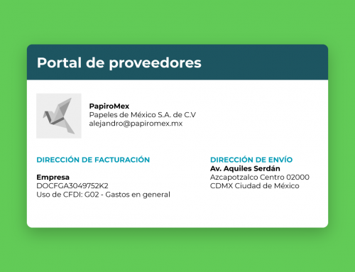 ¡Nuevo acceso a portal para proveedores!