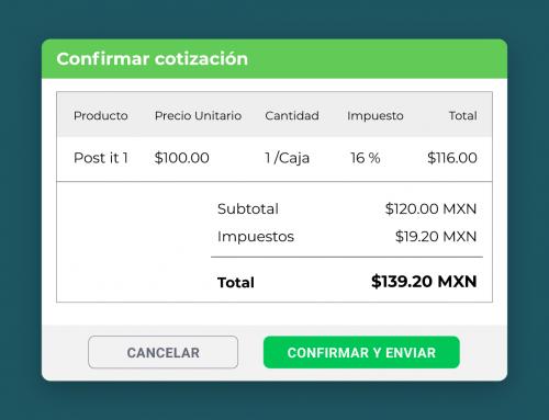 Crea cotizaciones desde el portal de proveedores de Yaydoo